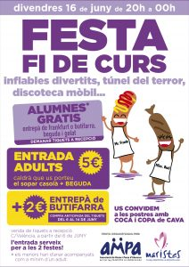 CARTELLS FESTA FI DE CURS 2017-01