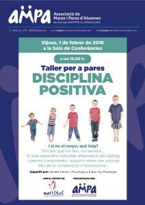 CARTELL DISCIPLINA POSITIVA-01